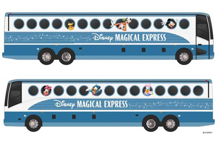 New look Magical Express design for 2018