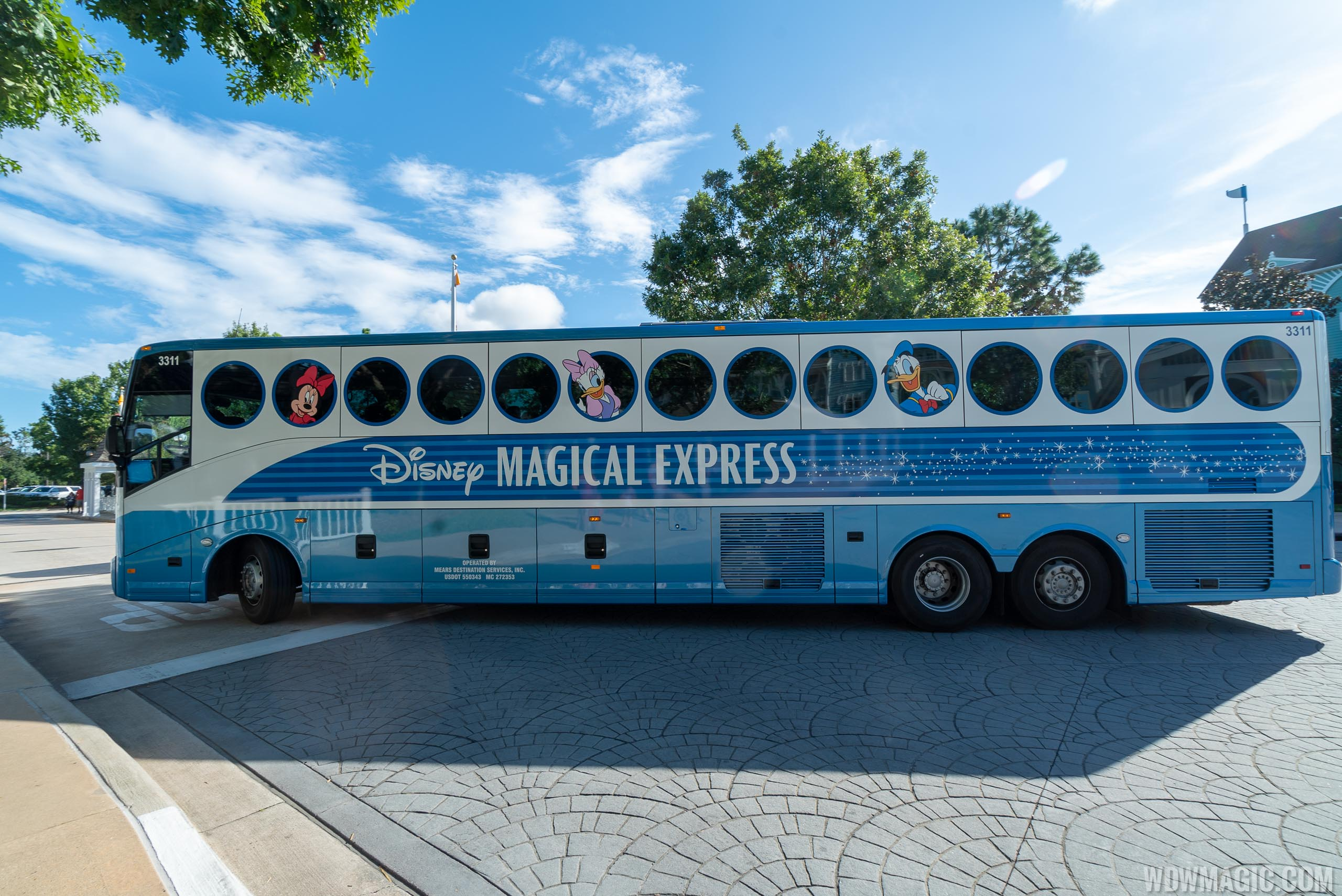 Magical Express is still available but with modifications