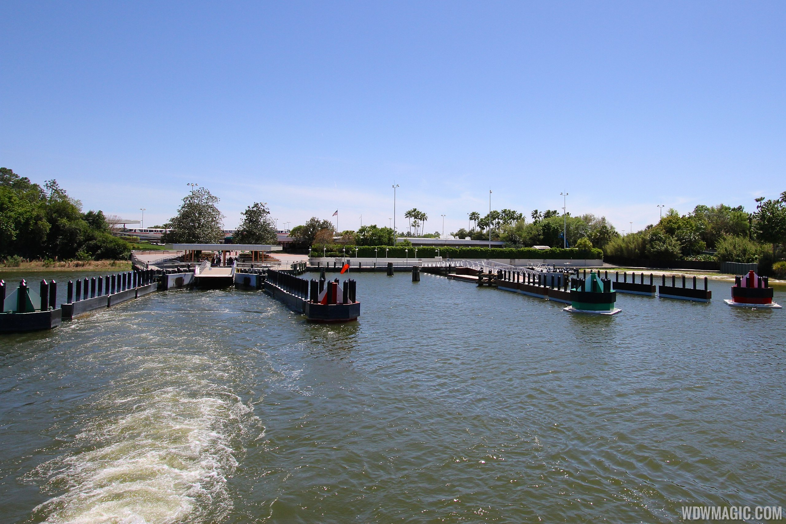 Completed second TTC ferry boat dock