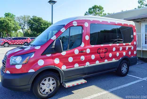 Accessible Minnie Van