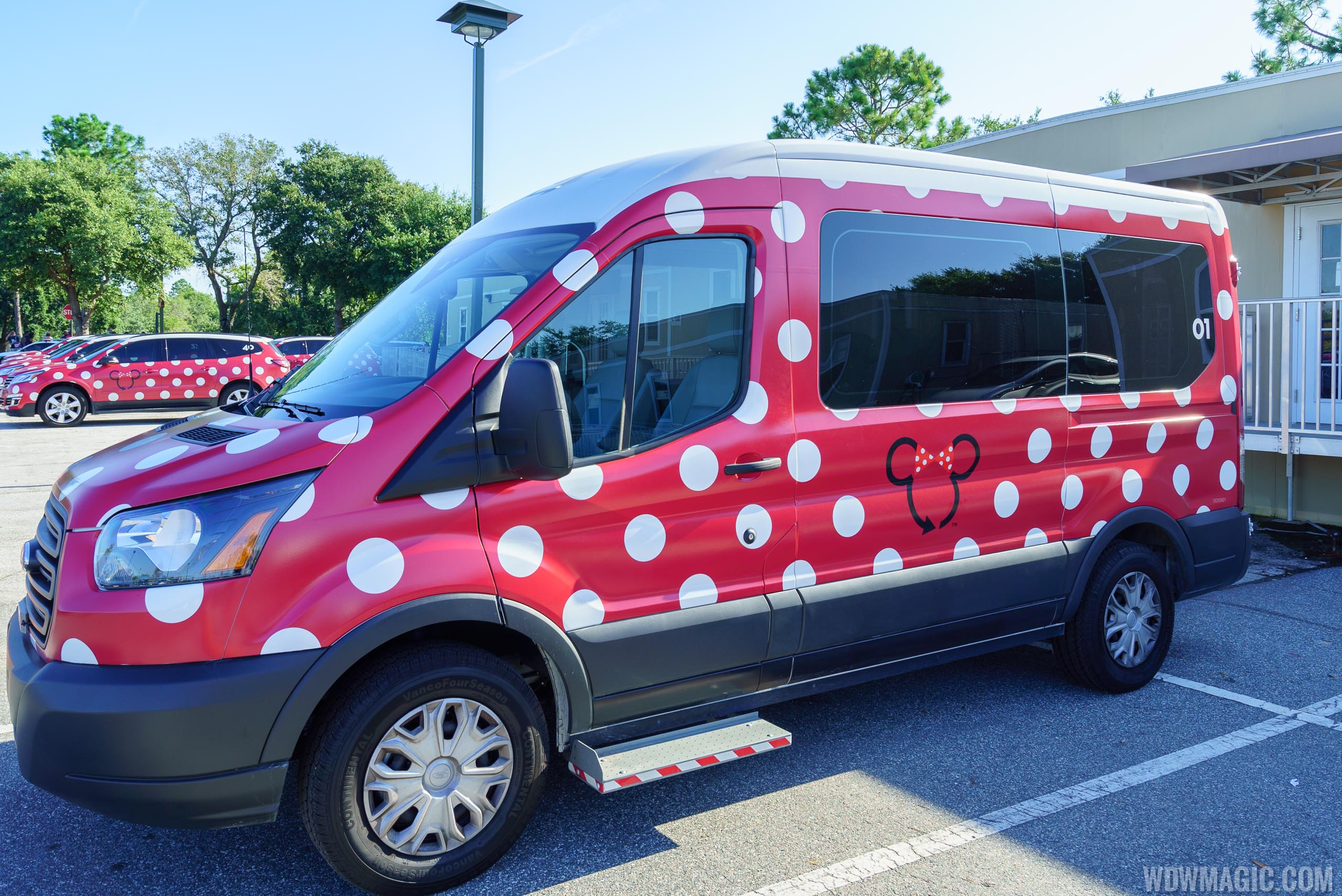 Accessible Minnie Van