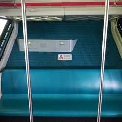 Monorail Black new interior carpeting