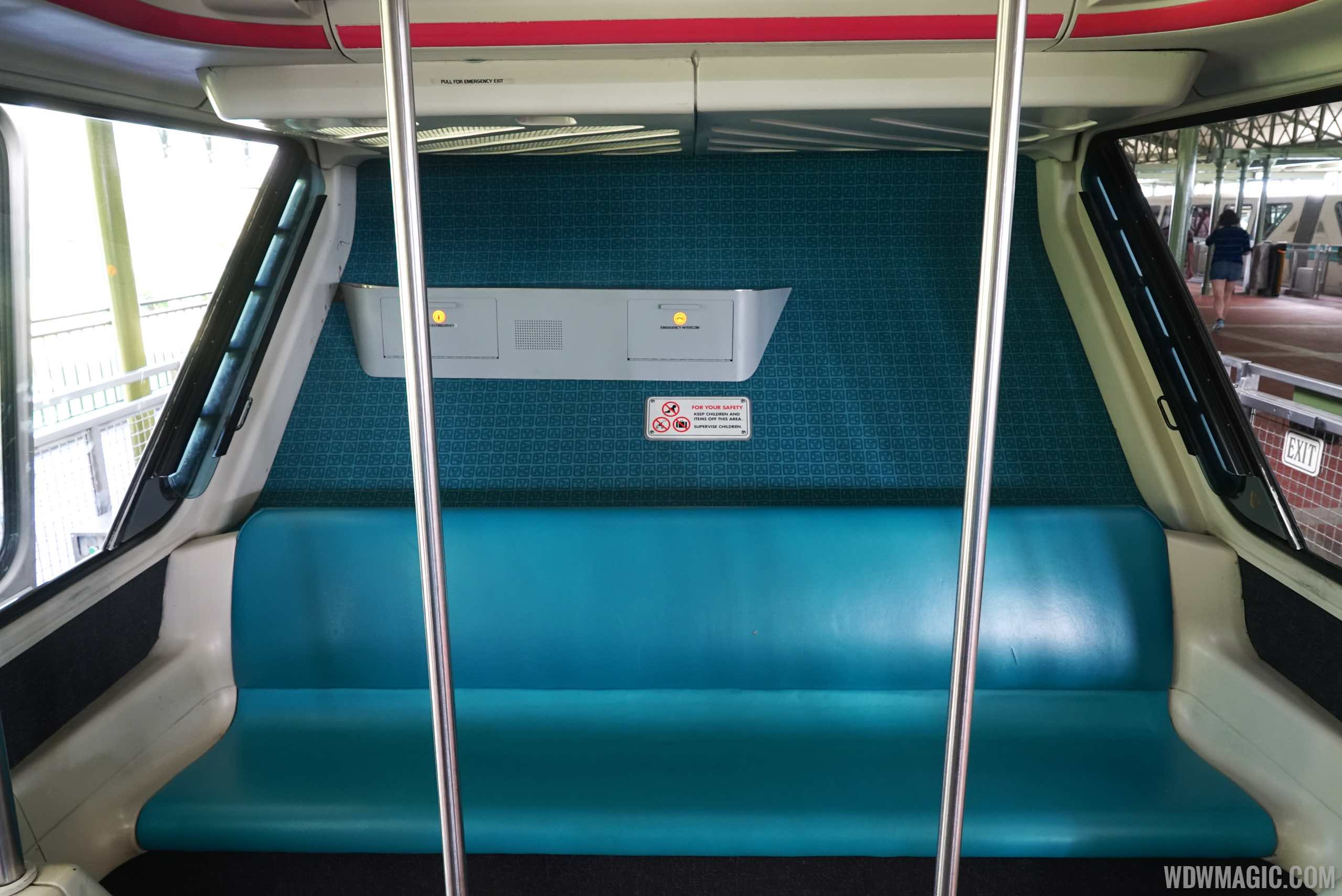New Monorail Black carpeting