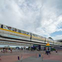 WDW Toy Monorail System - Toy Story 4 monorail
