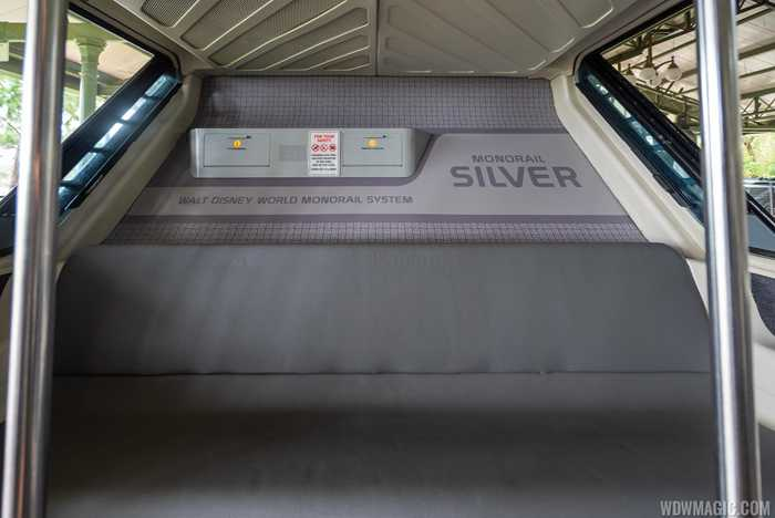 Monorail Silver updated interior