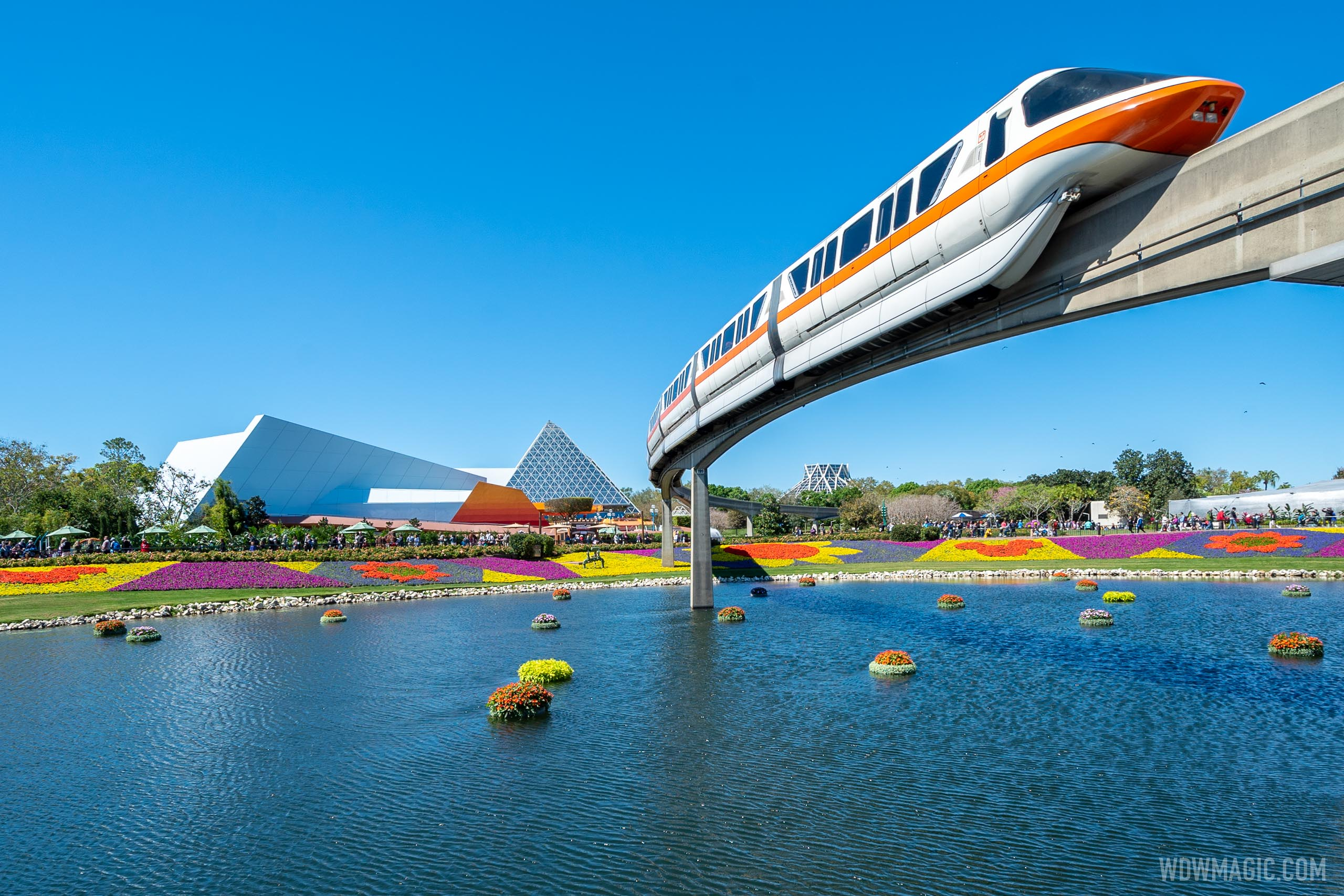 Walt Disney World Monorail System overview