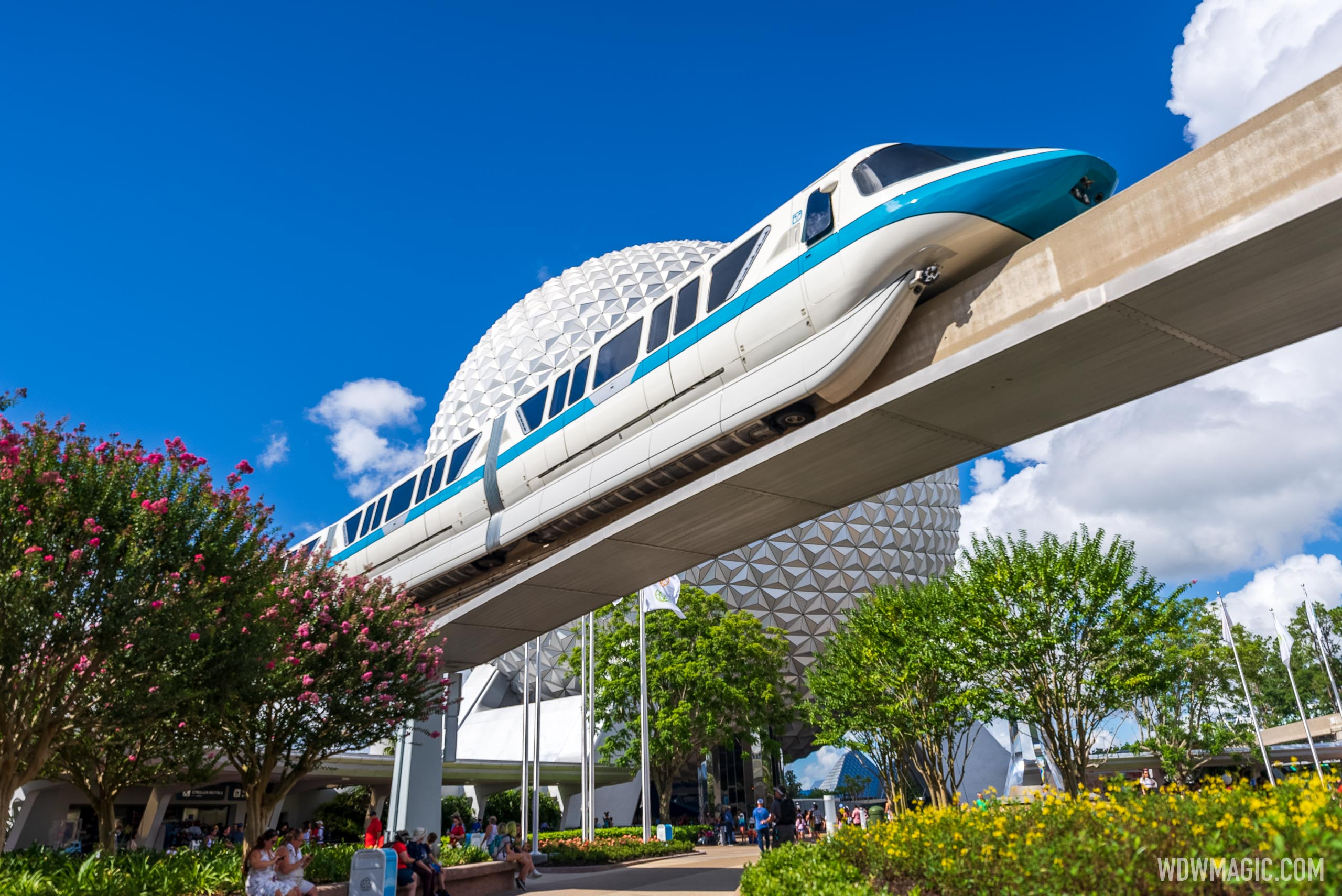 Walt Disney World Monorail System returns to EPCOT after 16 month closure