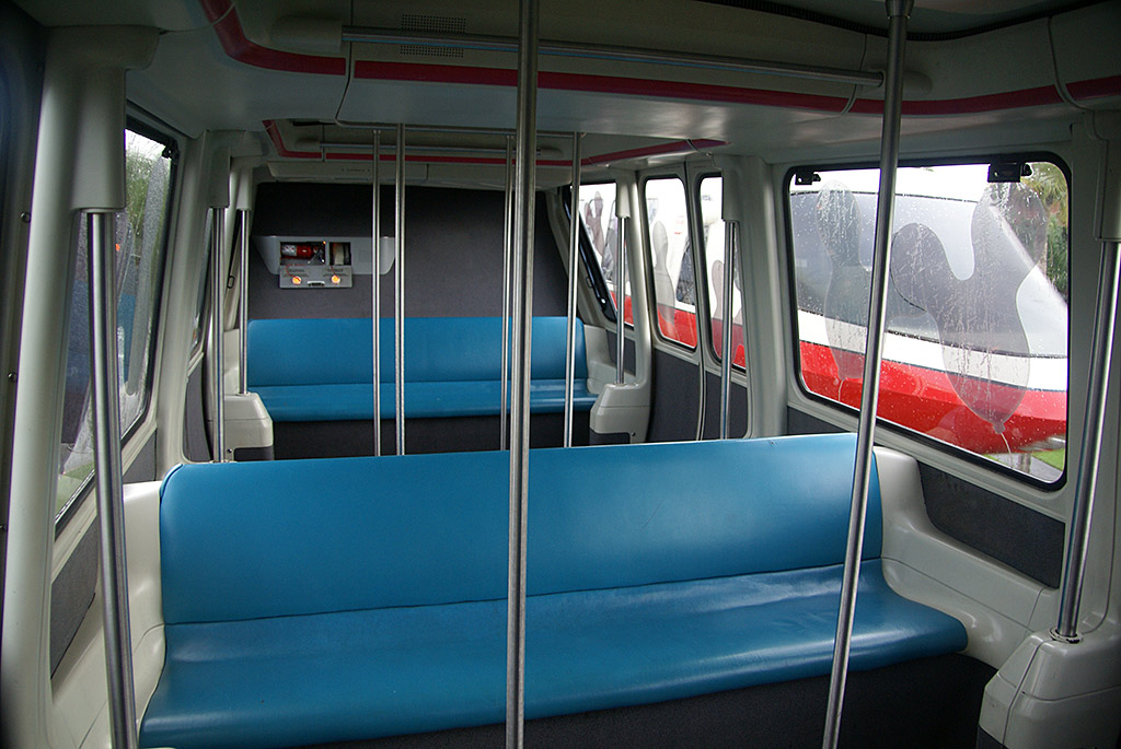Monorail interior