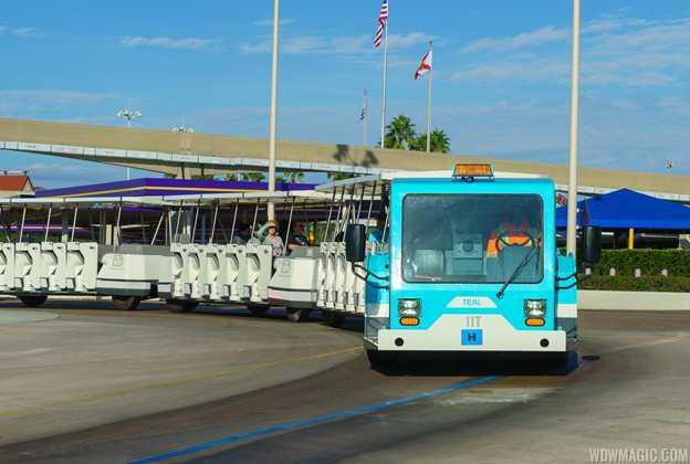 2017 Walt Disney World parking trams