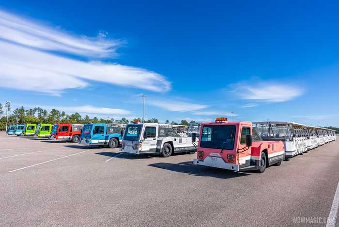 TTC Magic Kingdom Parking Lot Trams December 2020
