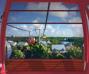 VIDEO - See more of the Disney Skyliner gondola including ride times for each route