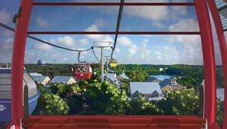 Official opening date set for Disney Skyliner at Walt Disney World
