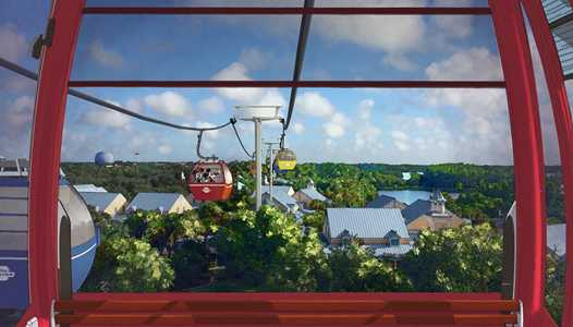 PHOTOS - First look inside the Disney Skyliner gondolas