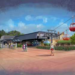 Disney Skyliner concept art