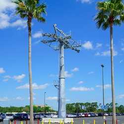 Disney Skyliner construction at Disney's Hollywood Studios