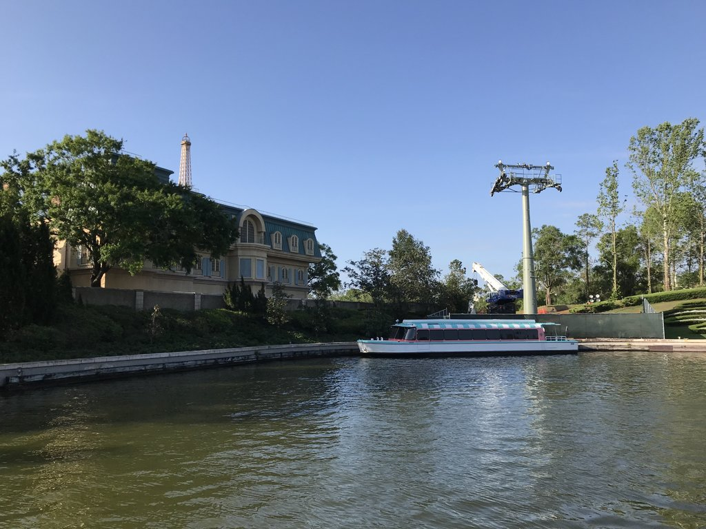 Skyliner tower at Epcot - thanks to @marni1971