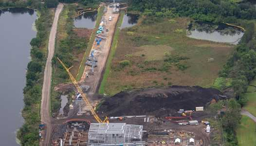 PHOTOS - Disney Skyliner views from the air