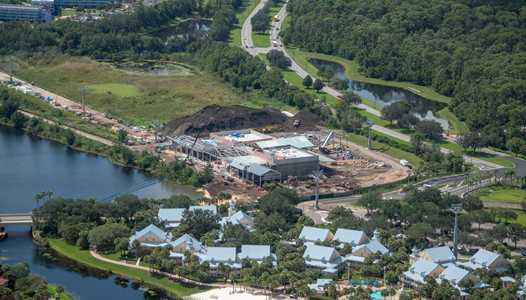 PHOTOS - Disney Skyliner construction at Walt Disney World