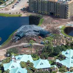 Disney Skyliner construction  - October 2018