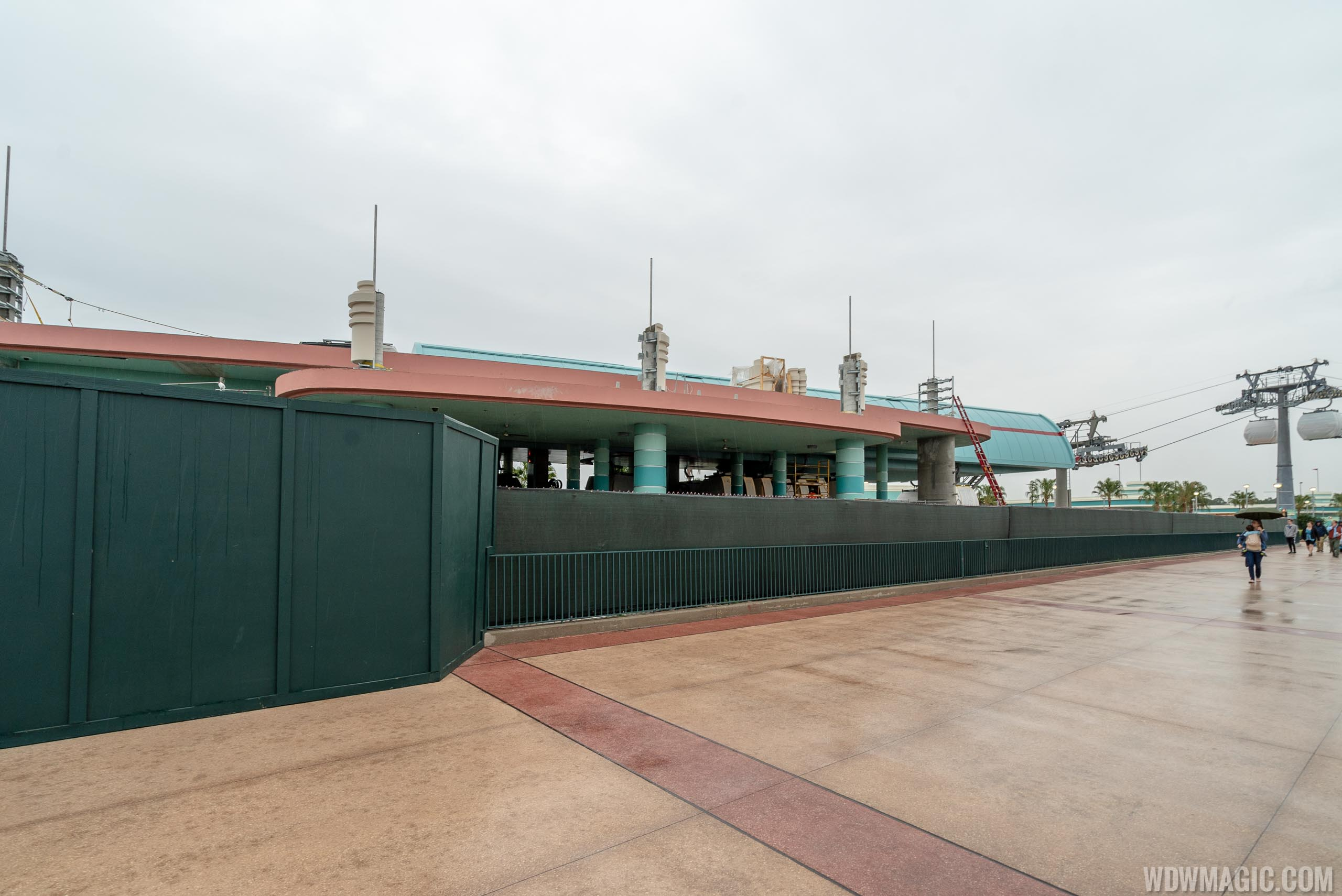 Disney Skyliner testing at Disney's Hollywood Studios