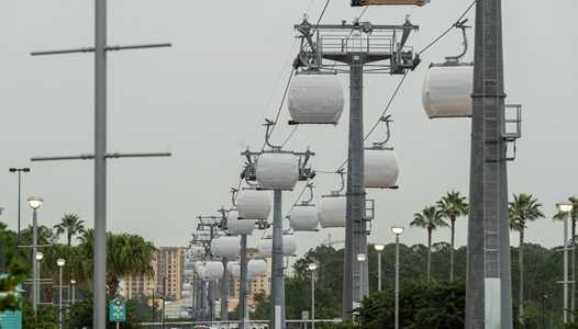 VIDEO - Disney Skyliner testing continues at Disney's Hollywood Studios