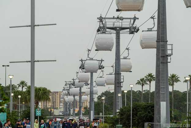 Disney Skyliner testing at Disney's Hollywood Studios