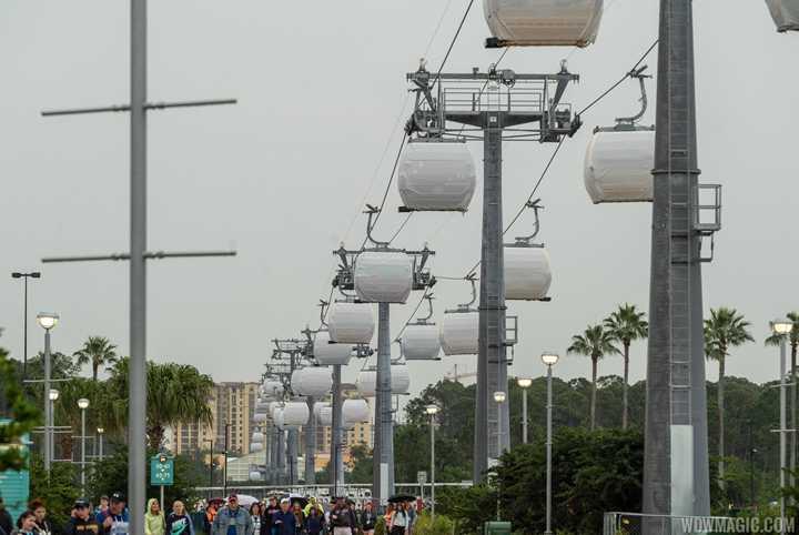 VIDEO - Disney Skyliner testing continues at Disney's Hollywood Studios