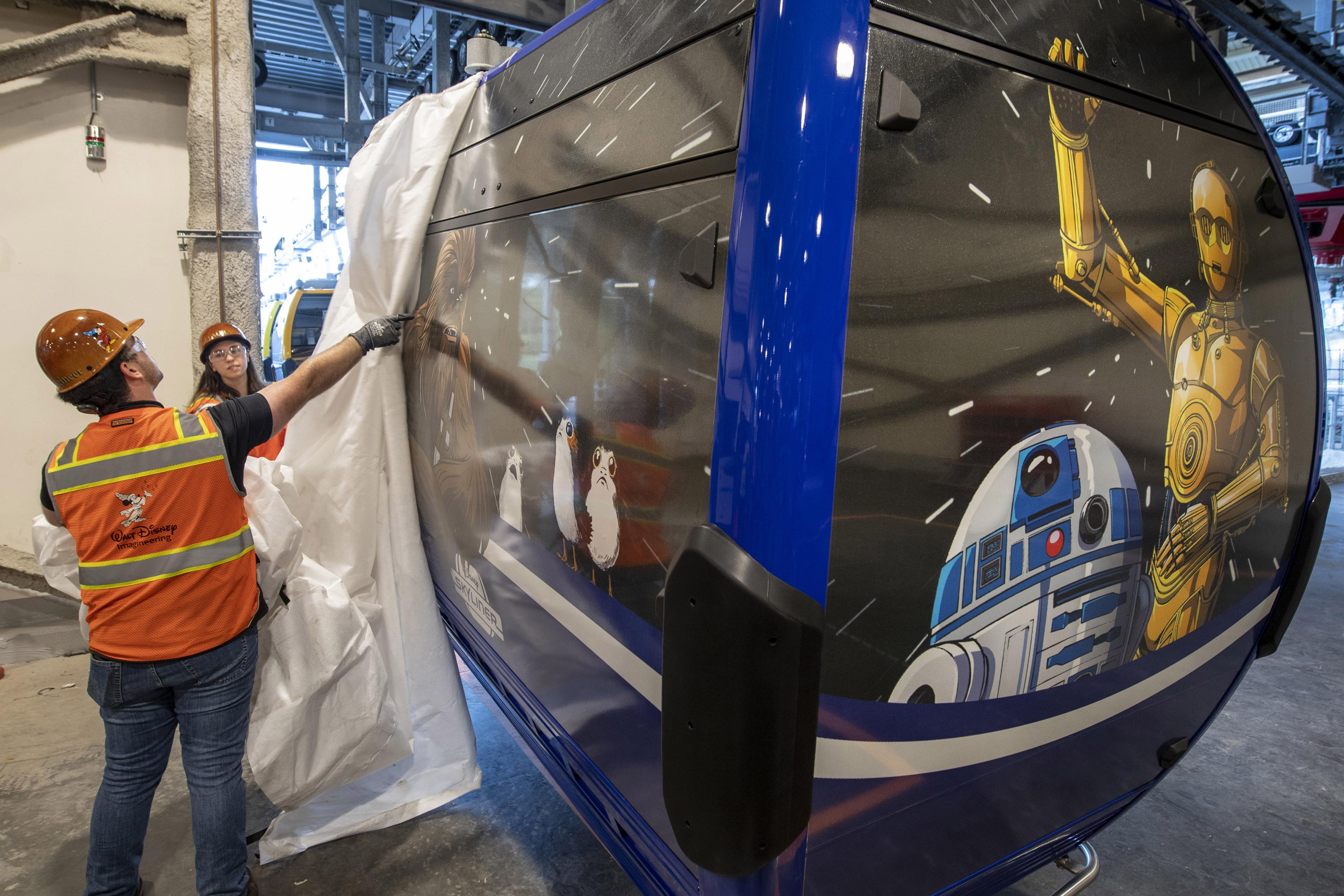 Disney Skyliner Gondolas unwrapped