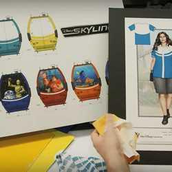 Disney Skyliner Costumes