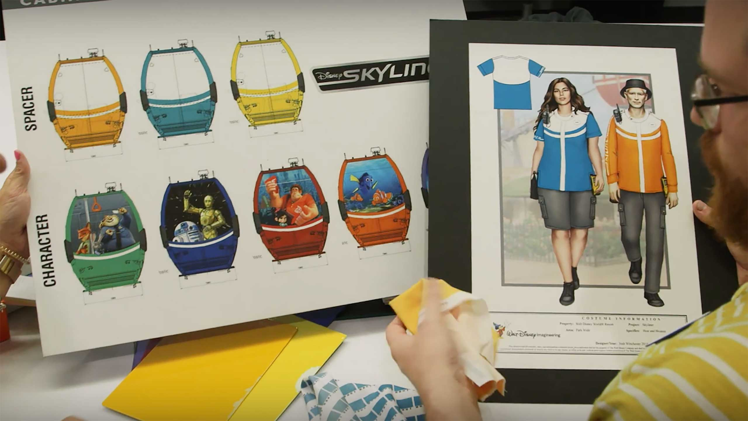 VIDEO - Creating the Disney Skyliner costumes