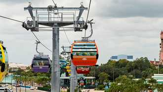 VIDEO - Take a first flight on Disney Skyliner