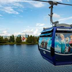 Disney Skyliner flight
