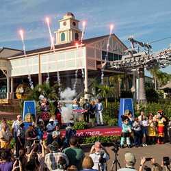 Disney Skyliner Dedication Moment