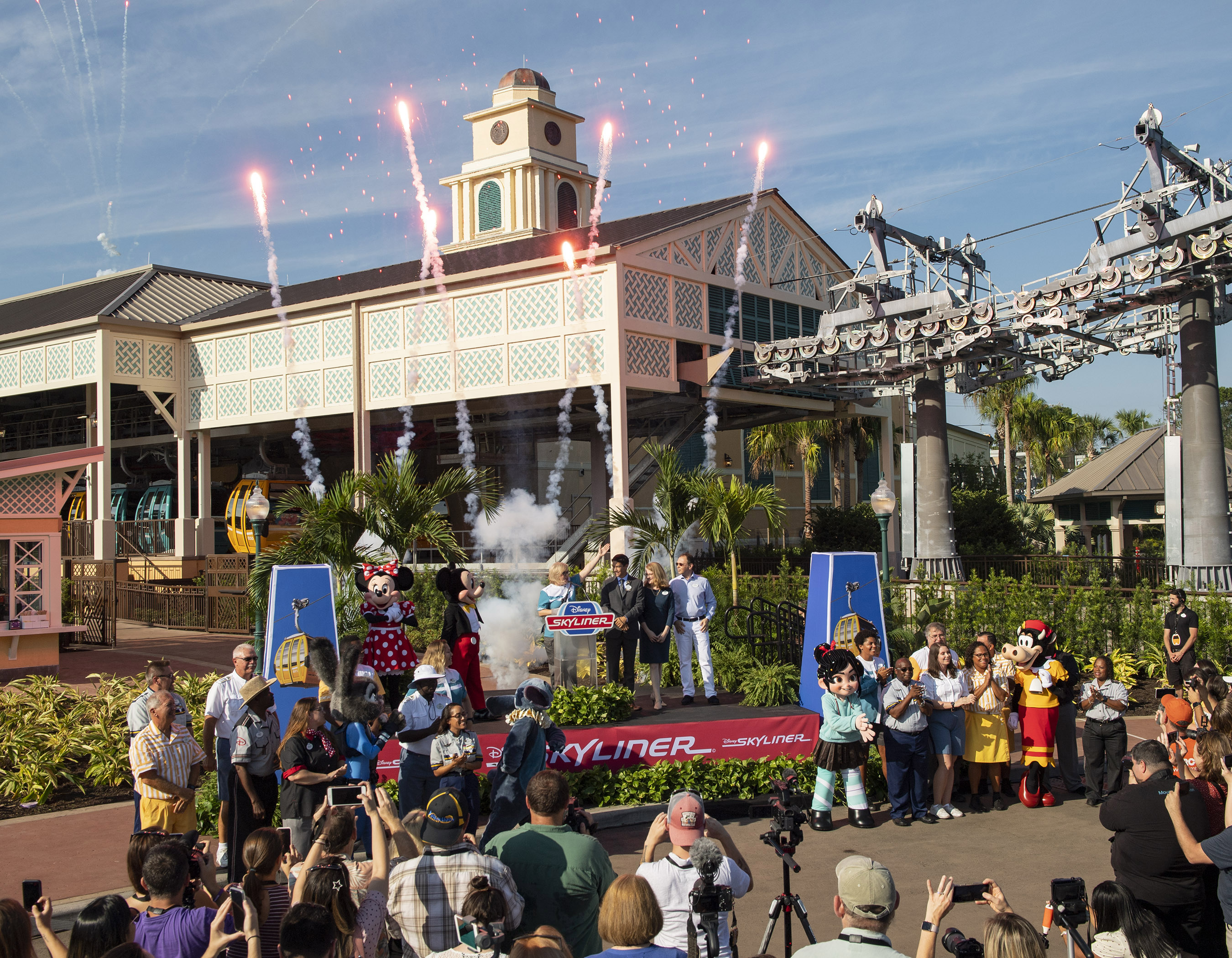 Disney Skyliner Dedication Moment