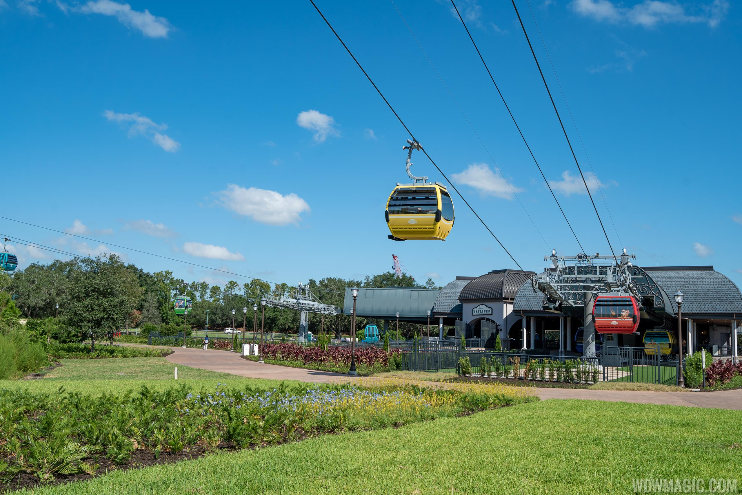 Disney Skyliner returns to service
