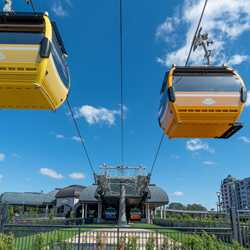 Disney Skyliner - Riviera Resort station
