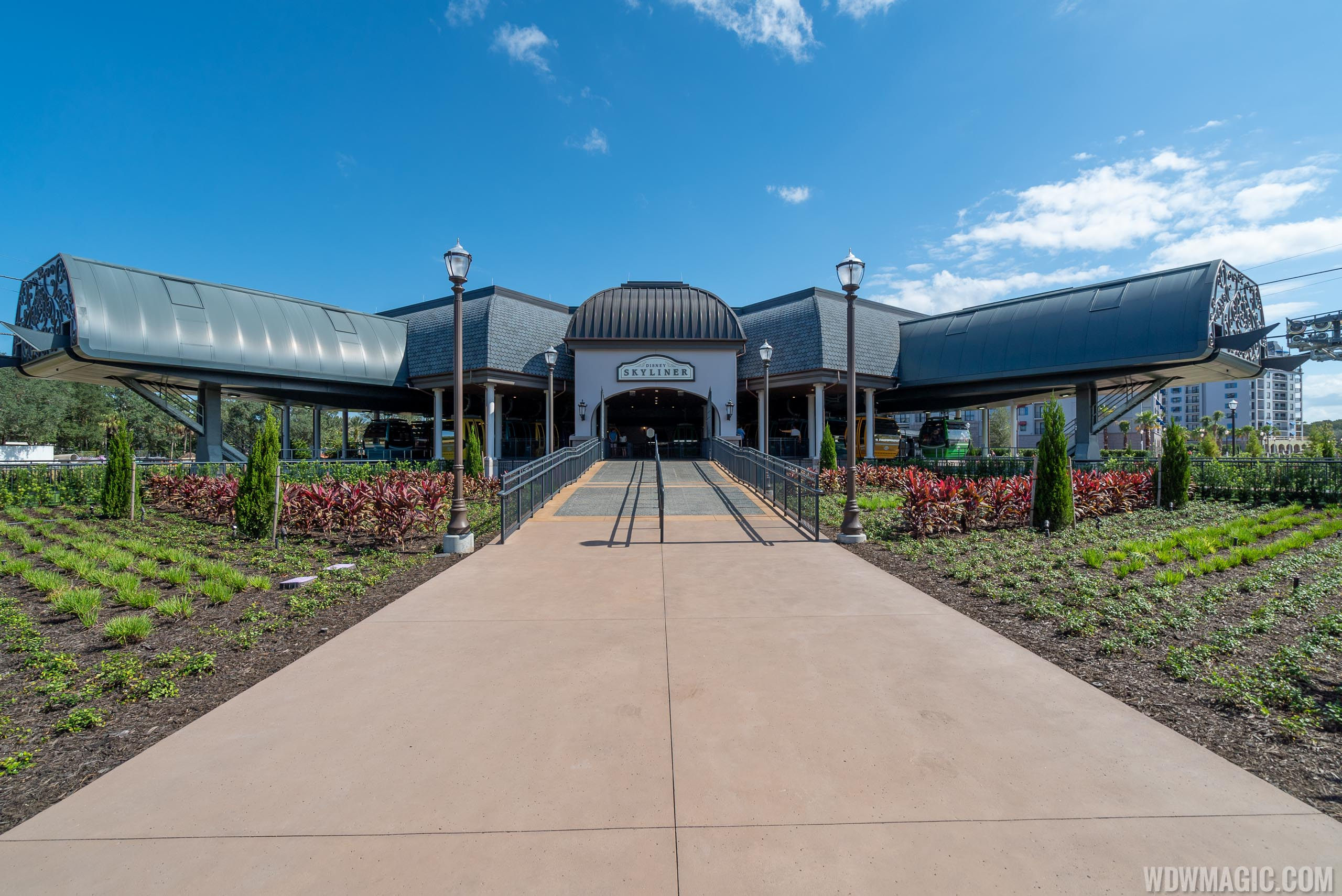 Disney Skyliner - Riviera Resort station