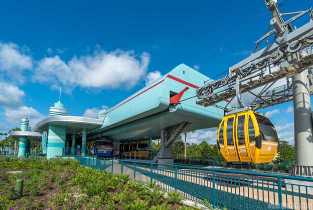 Disney Skyliner maintenance closure