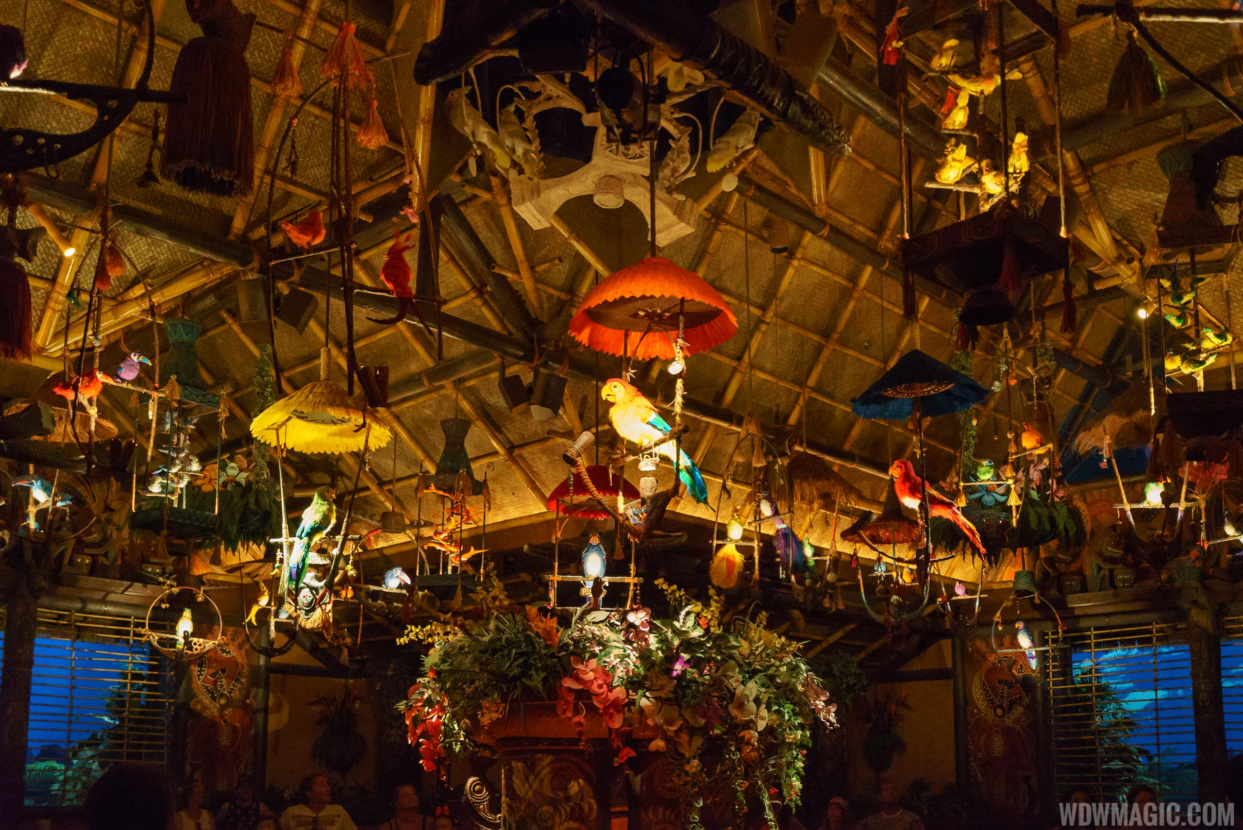 Walt Disney's Enchanted Tiki Room show