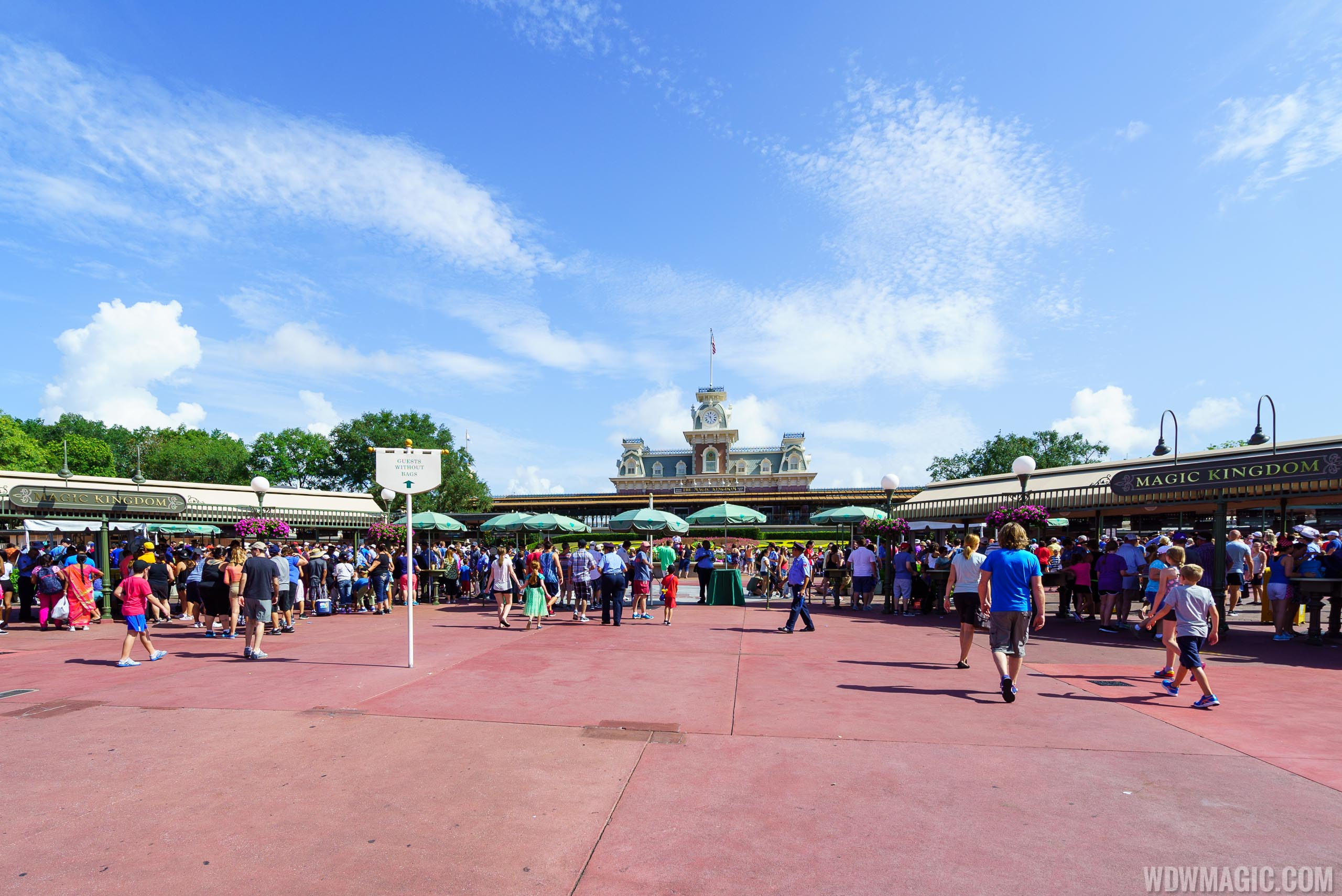 Magic Kingdom entrance