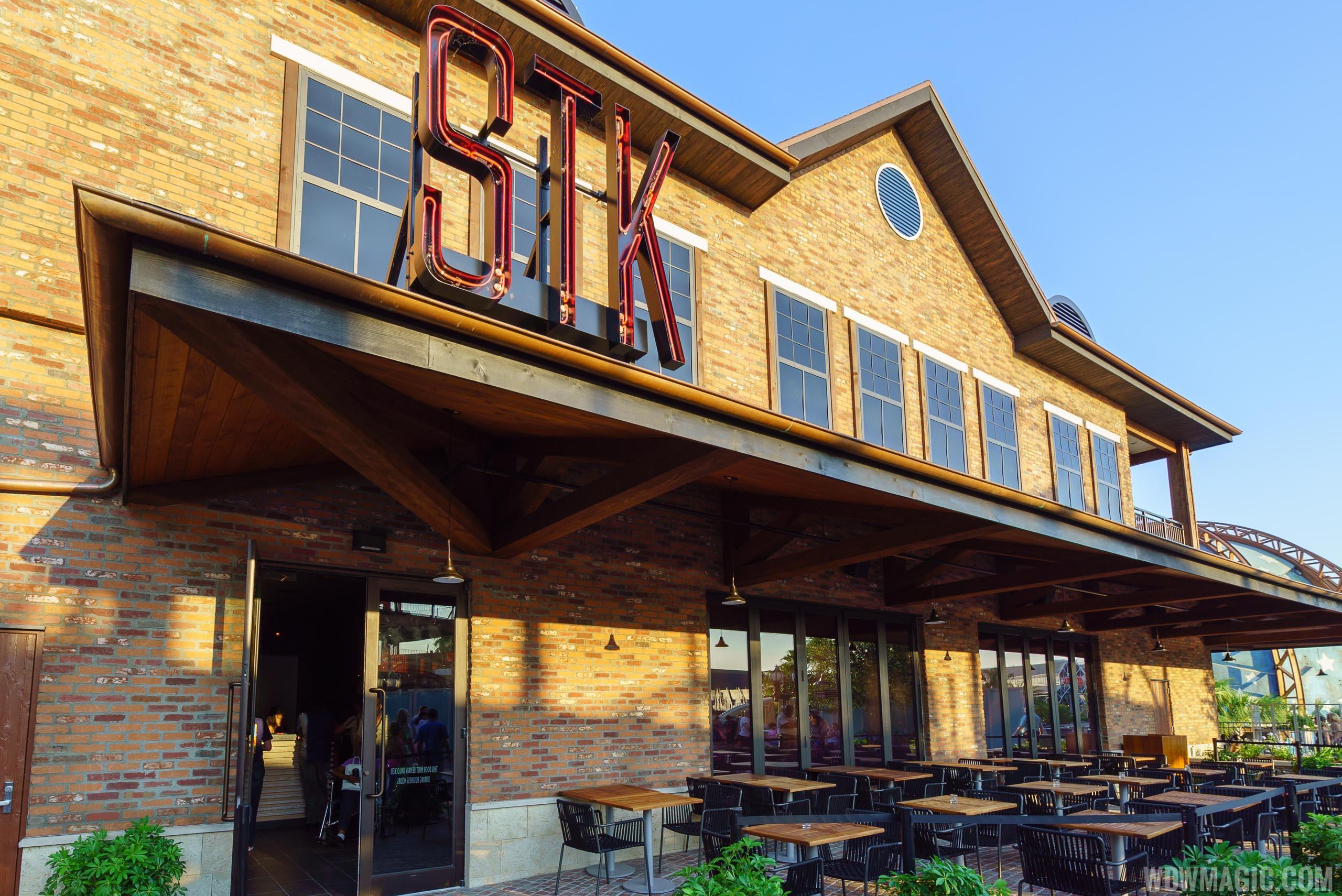 STK Orlando - a high end restaurant in Disney Springs