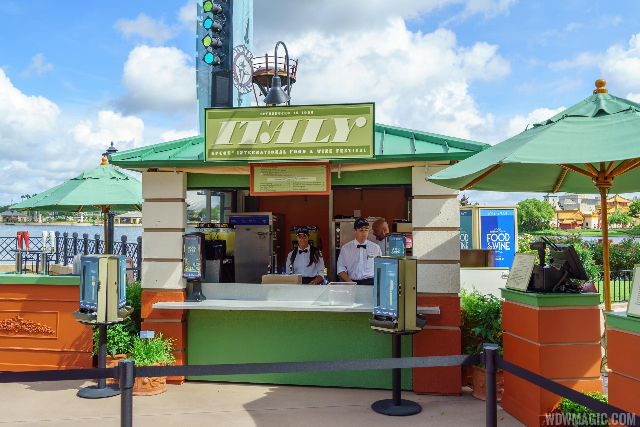 Italy Marketplace Kiosk