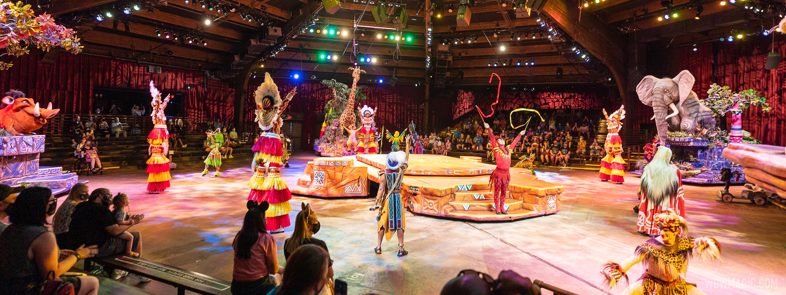 Stage shows are back at Walt Disney World with the opening of 'A Celebration of Festival of the Lion King'