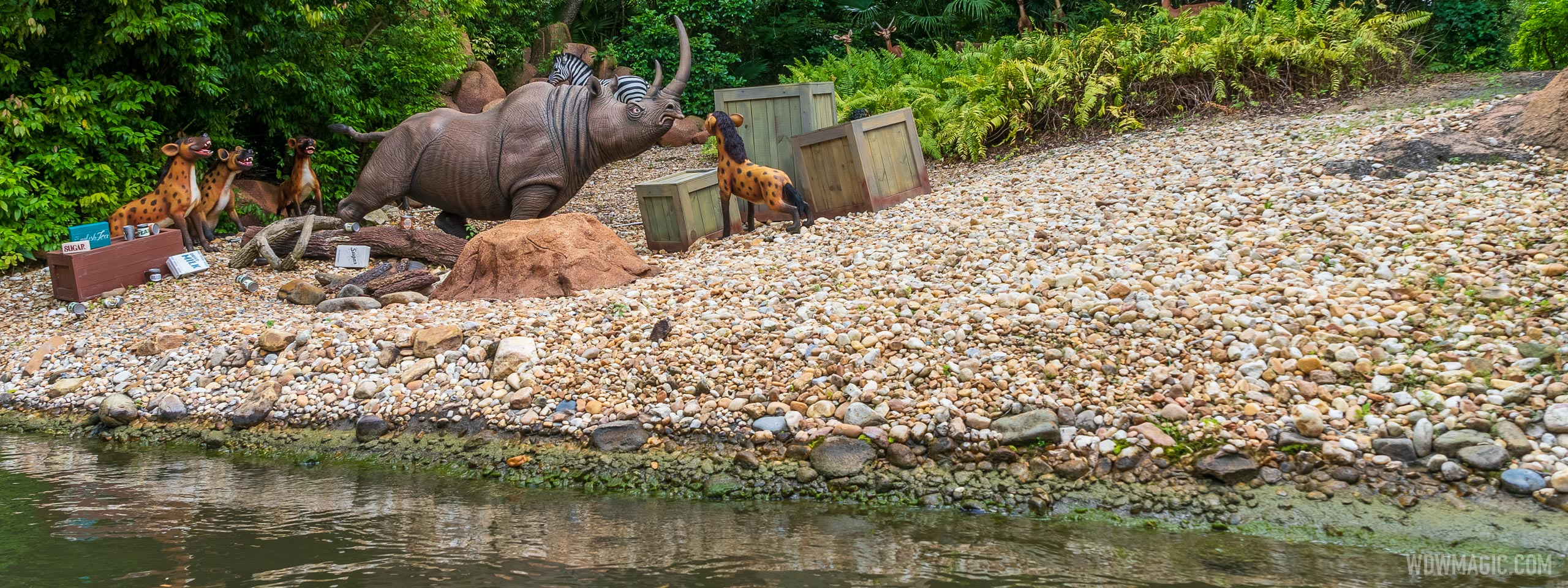 Summary of the changes so far at Disney World's Jungle Cruise
