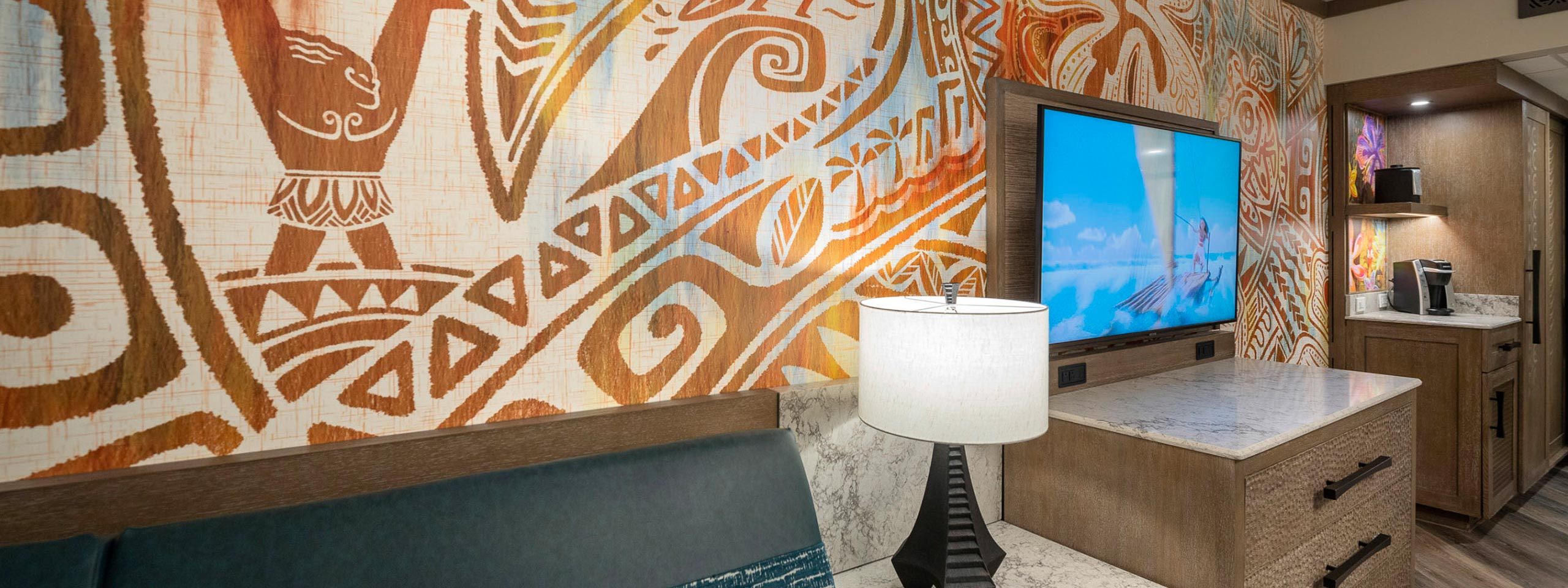 PHOTOS - Step inside a new Moana inspired room at Disney's Polynesian Village Resort