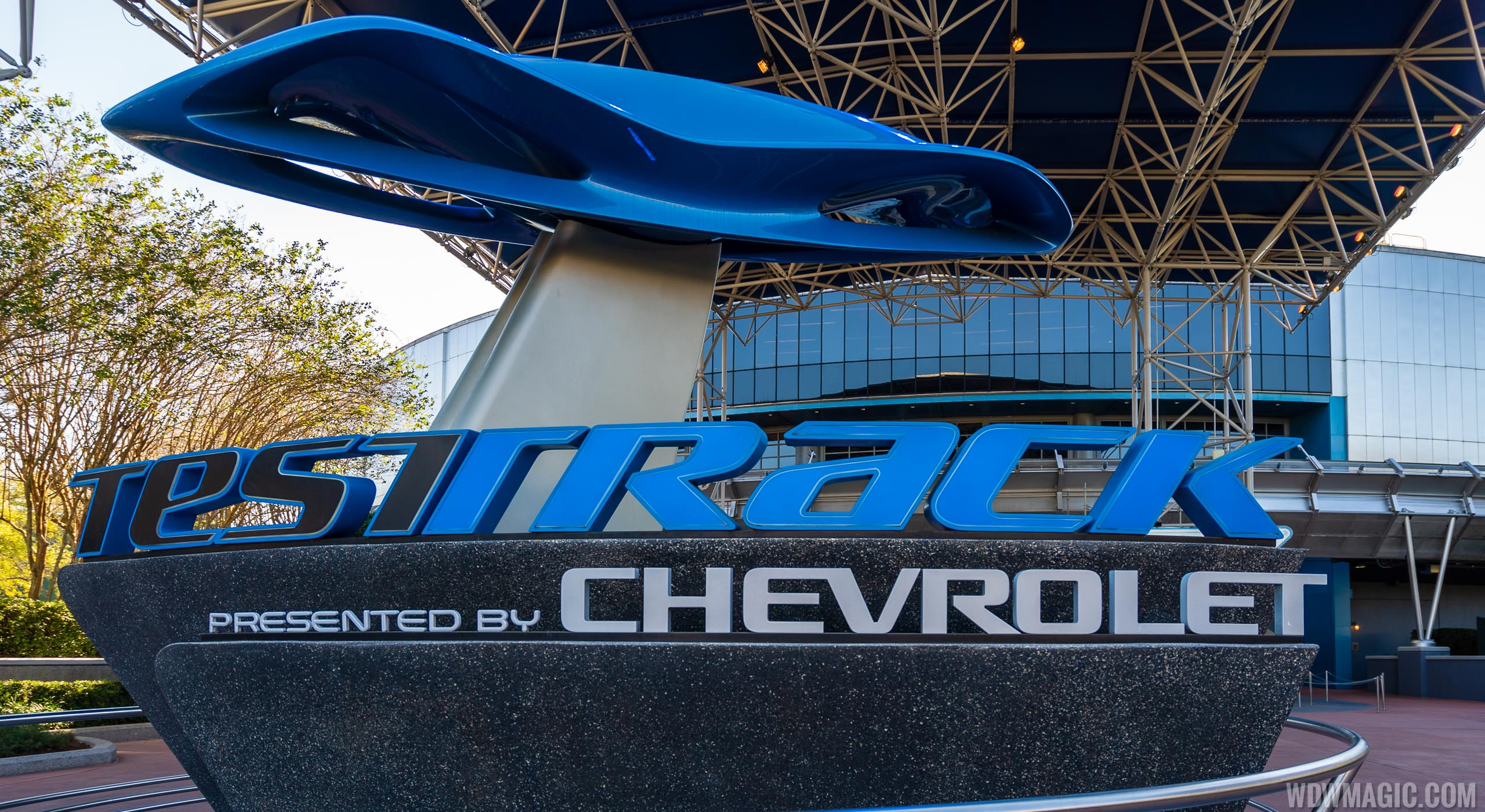 Test Track entrance marquee