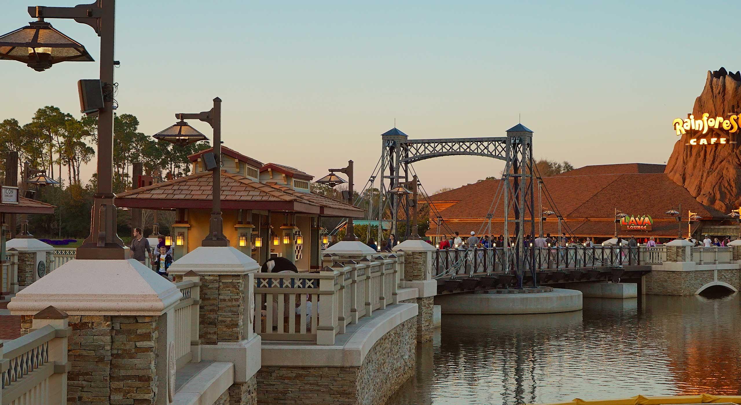 Disney Springs Marketplace Causeway