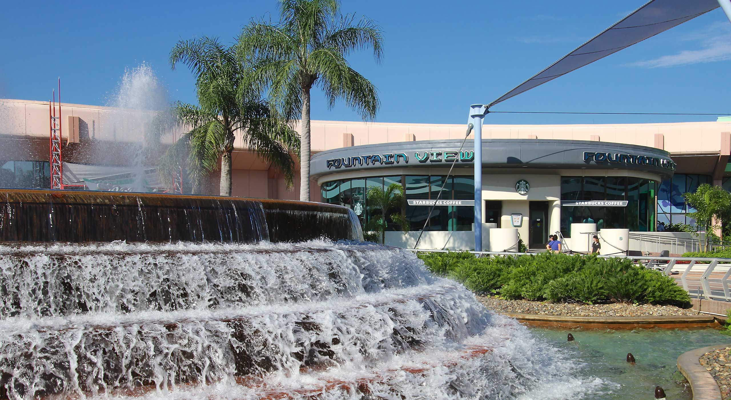 Epcot's Fountain View