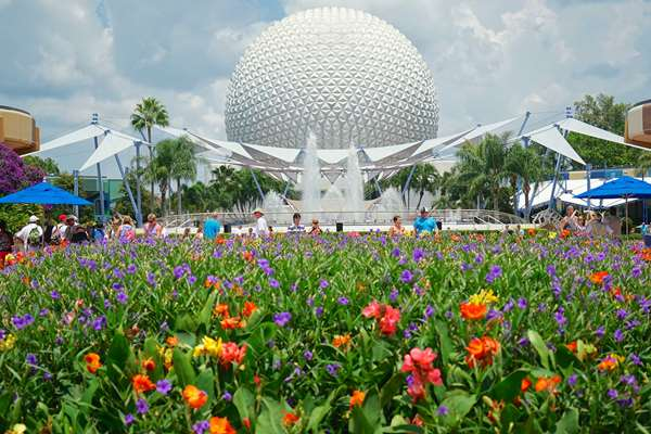 Colors of Epcot's Future World