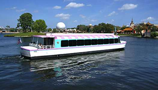 Friendship Boats return to service at the EPCOT area resorts in November